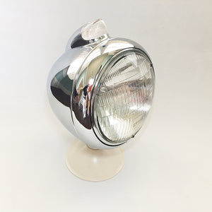 Guide Style Headlights - Chrome - 1pr
