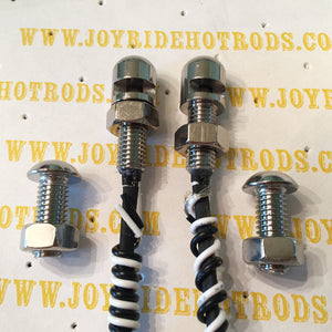 License Plate Light Bolts - LED - S/S