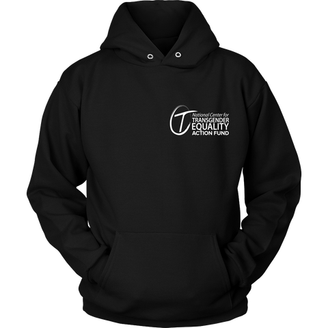 NCTE Action Fund Logo Hoodie (Black & White)