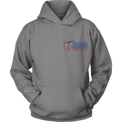 NCTE Action Fund Logo Hoodie (Gray)