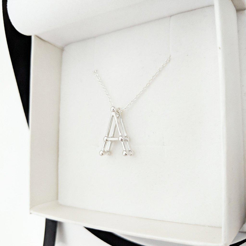 Atom Letter Pendant-Zeal Gifts-Zeal Gifts