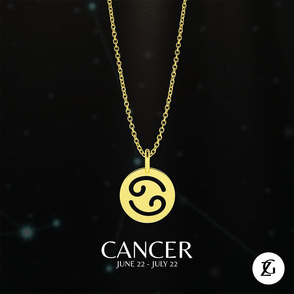 Cancer Classic Necklace-Zeal Gifts-Zeal Gifts