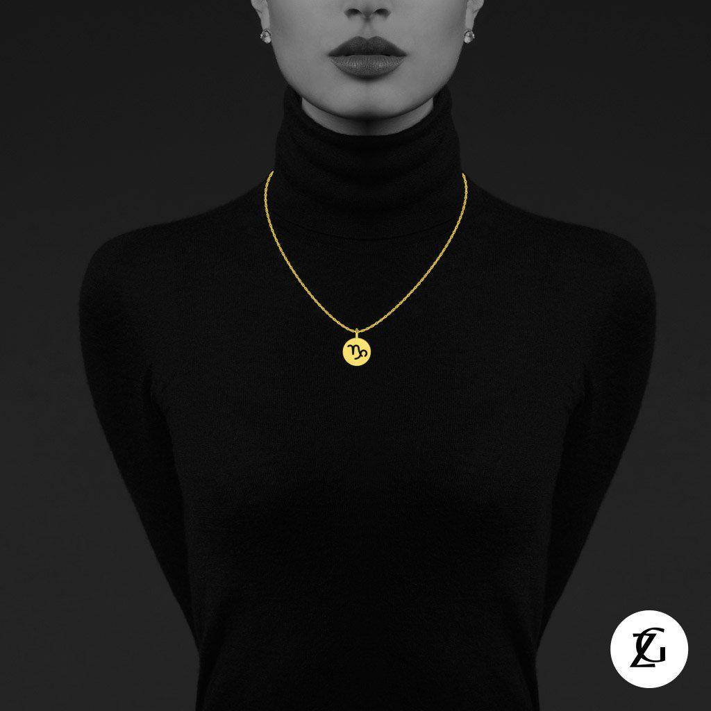 Capricorn Classic Necklace-Zeal Gifts-Zeal Gifts