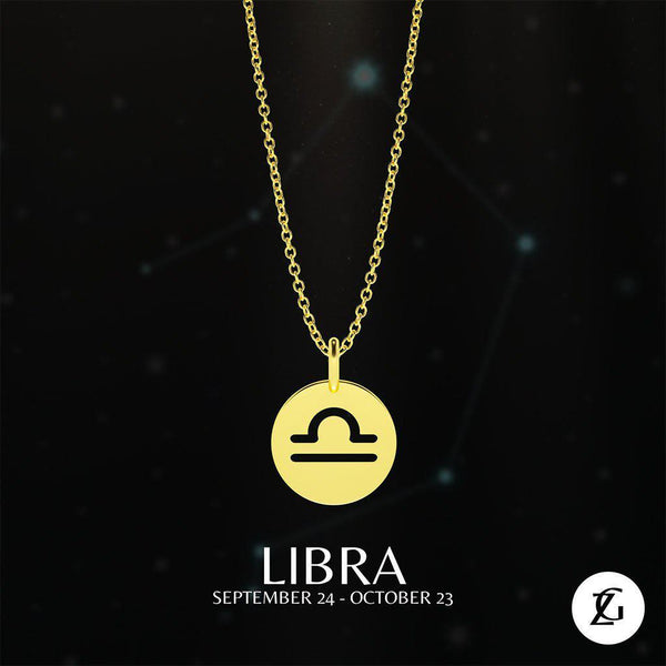 Libra Classic Necklace-Zeal Gifts-Zeal Gifts
