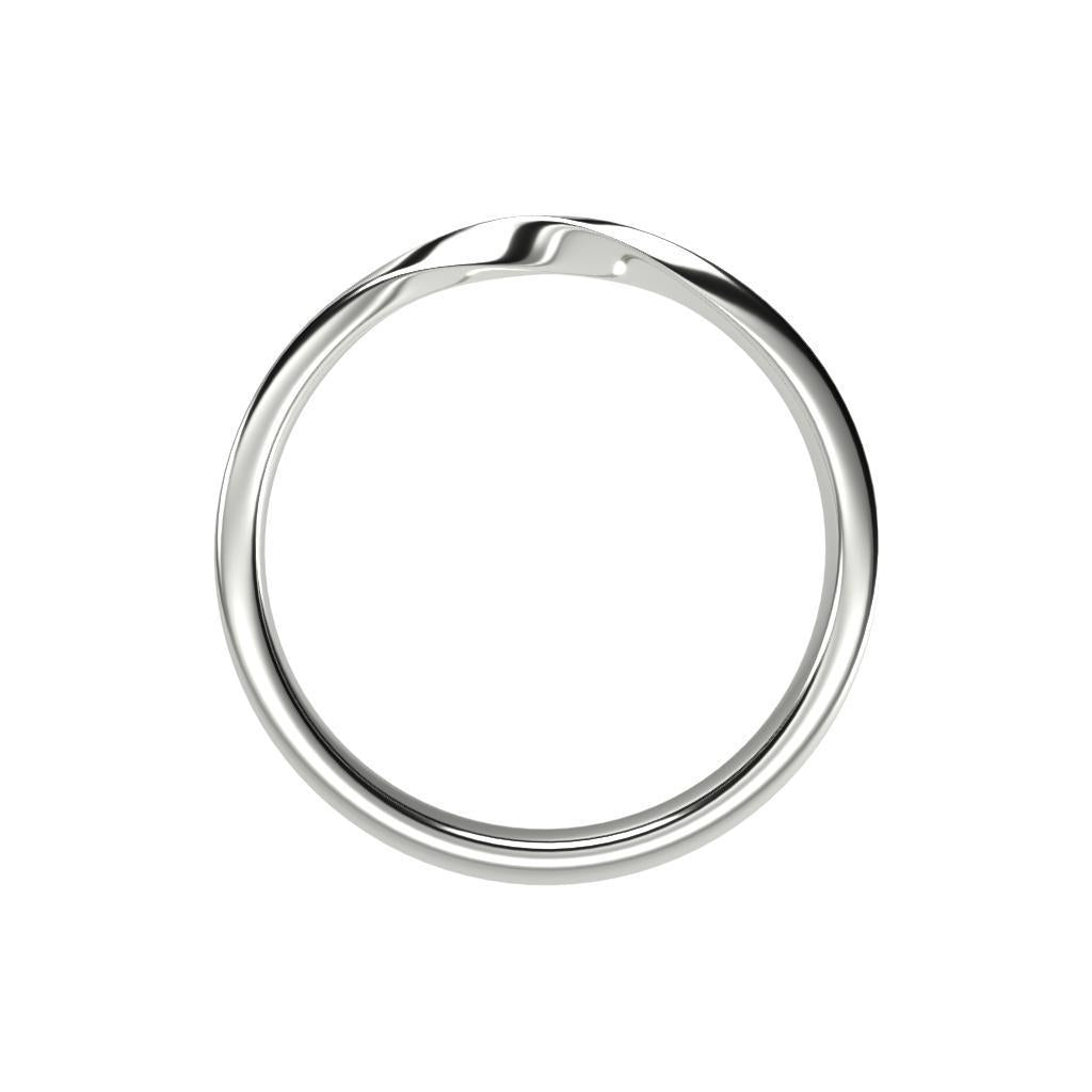 Mobius Ring Set - Platinum or 14K Solid Gold-Zeal Gifts-Zeal Gifts