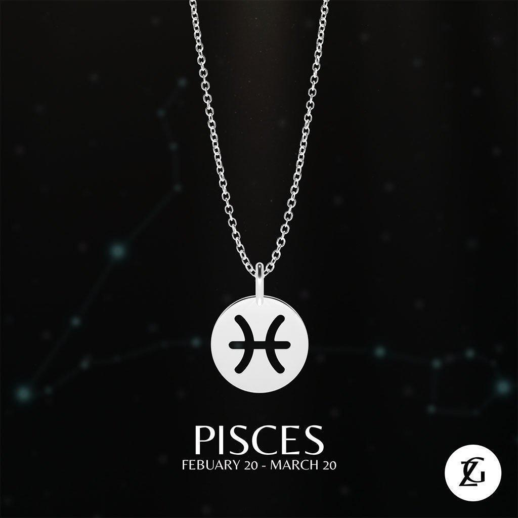 Pisces Classic Necklace-Zeal Gifts-Zeal Gifts