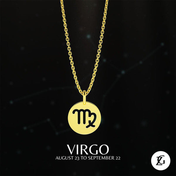 Virgo Classic Necklace-Zeal Gifts-Zeal Gifts