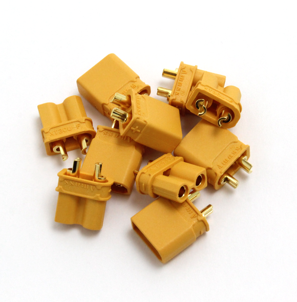 XT30 CONNECTORS - 5 PAIRS