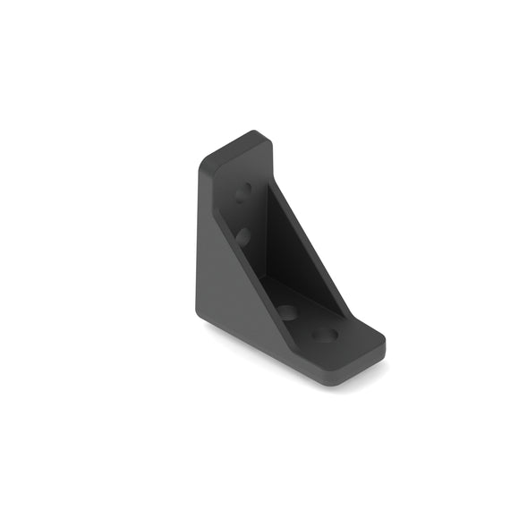 15mm Plastic Inside Corner Bracket - 8Pack