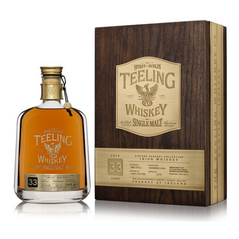 Teeling Single Malt Vintage Reserve Collection 33