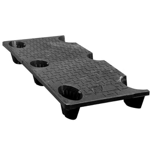 20 x 48 Nestable Solid Deck Plastic Pallet - CTC 4820-CTC-C OWS PP-S-2048-NG Repose Top