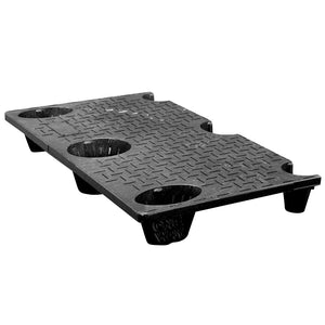 25 x 40 Nestable Solid Deck Plastic Pallet - CTC 4025-CTC-C OWS PP-S-2540-NG Repose Top