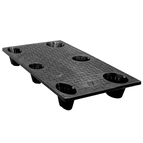 25 x 48 Nestable Solid Deck Plastic Pallet - CTC 4825-CTC-C OWS PP-S-2548-NG Repose Top