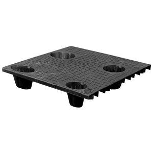 30 x 30 Nestable Solid Deck Plastic Pallet - CTC 3030-CTC-C OWS PP-S-3030-NG Repose Top