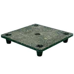 30 x 30 Nestable Solid Deck Plastic Pallet - Rotational Molding of UT The Boar OWS PP-S-3030-NM Repose Top