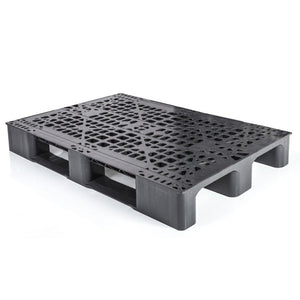 32 x 48 Rackable / Stackable Open Deck Plastic Pallet - 2 Runner