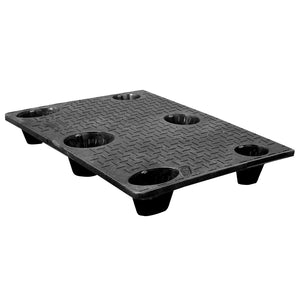 33 x 40 Nestable Solid Deck Plastic Pallet - CTC 4033-CTC-C OWS PP-S-3340-NG Repose Top