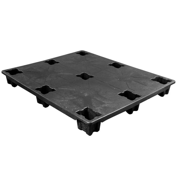 40 x 48 Ex-Pal X Solid Deck Nestable Plastic Pallet - CTC 4840EXP-CD-CTC-C OWS PP-S-40-NLX Repose Top