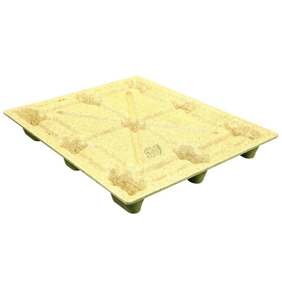 40 x 48 Molded Wood Pallet - Heavy Duty Litco Inca IE124840 OWS PW-S-4048-NH Repose Top