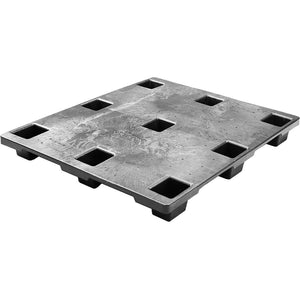40 x 48 Light Duty Solid Deck Nestable Plastic Pallet - OWS PP-S-40-NLX.1 - CTC Xtreme Stack 4840 Nestable - Repose - Top