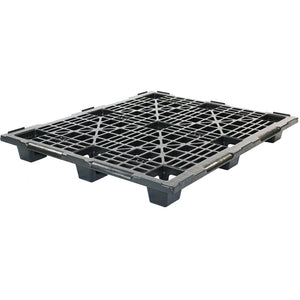40 x 48 Nestable Light Medium Duty Plastic Pallet w/Safety Lip