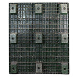 40 x 48 Nestable Solid Deck Plastic Pallet - Rotational Molding of UT The Grizzly OWS PP-S-40-NM1 Standing Bottom