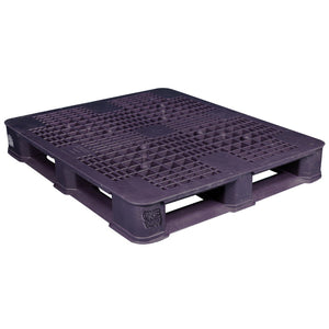 40 x 48 Rackable Ventilated Plastic Pallet - Polymer Solutions DLR OWS PP-O-40-R7 Repose Top