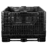 40 x 48 x 34 Collapsible Bulk Bin - Triple Diamond Plastics TDP-4840-34 OWS CP-S-40-C4