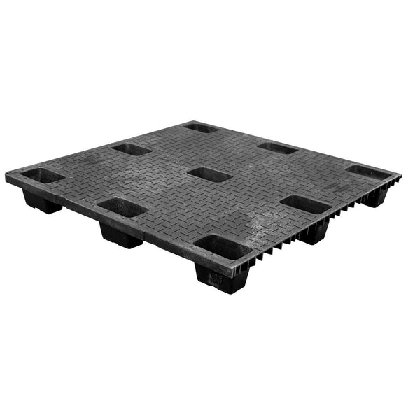42 x 42 Nestable Solid Deck Plastic Pallet - CTC 4242-CTC-C OWS PP-S-4242-NG Repose Top