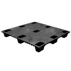 43 x 43 Nestable Solid Deck Plastic Pallet - CTC 4343-CTC-C OWS PP-S-4343-NG Repose Top