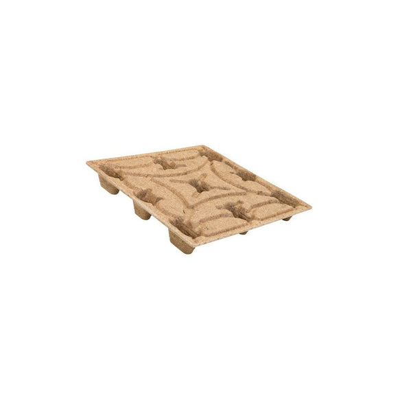 44 x 44 Molded Wood Pallet - Export Ready - Heavy Duty - OWS PW-S-4444-NH Licto IE124444 - Repose Top