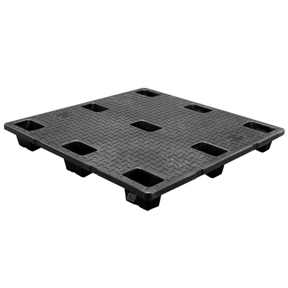45 x 45 Nestable Solid Deck Plastic Pallet - CTC 4545-CTC-C OWS PP-S-4545-NG Repose Top