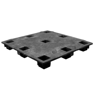 45 x 48 Nestable Solid Deck Plastic Pallet - PPC 4548 Heavy Duty OWS PP-S-4548-NH Repose Top