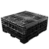 45 x 48 x 42 Solid Wall Collapsible Plastic Container - OWS CP-S-45-C-45 TDP-4845-42 Top Repose Top 2