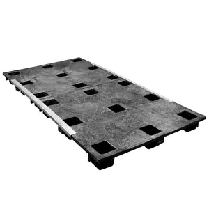 45 x 96 Nestable Solid Deck Plastic Pallet - PPC PPC4596N OWS PP-S-4596-N Repose Top