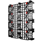 48 x 40 Nestable Light Duty Plastic Build-A-Pal Pallet - Fastlock FLP-02-003 OWS P-O-40-NFL Standing 3-4 4