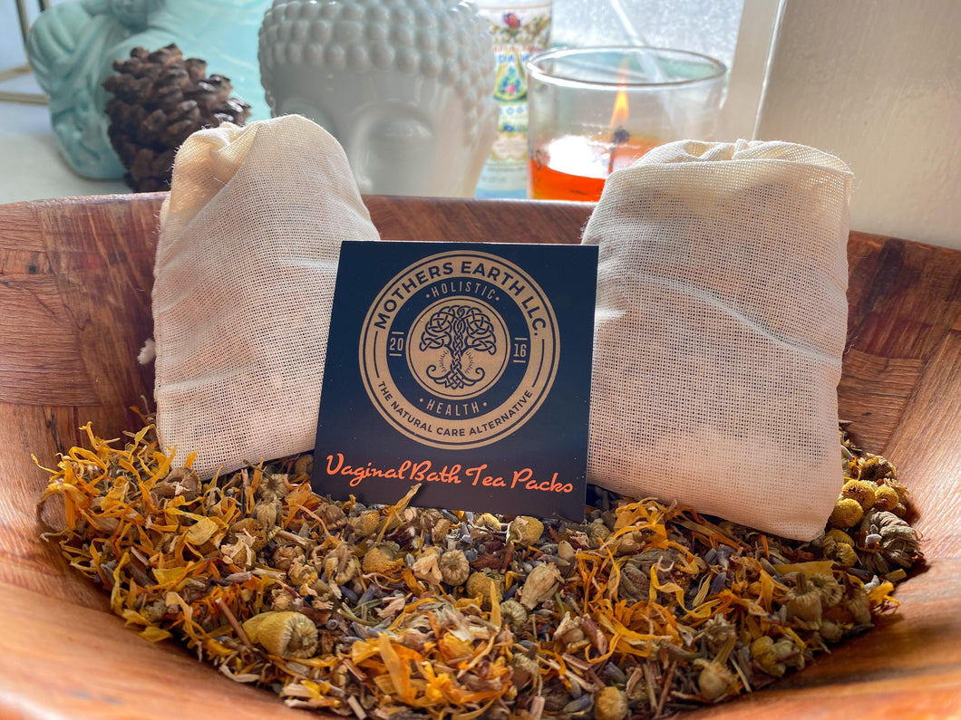 Vaginal Bath Tea Packs - Mothers Earth LLC