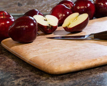 A large birdseye maple cutting board is a great wedding gift for a couple with everything