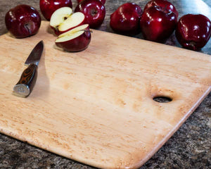 Birdseye maple is the best wood for a cutting board.