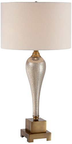 Transitional  Style Gigi Mercury Glass Table Lamp by Possini Euro Design 32
