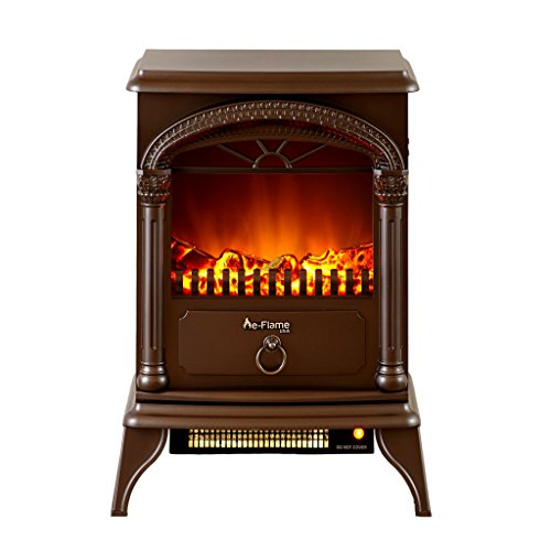 Hamilton Portable Free Standing Electric Heater Fireplace Stove 22