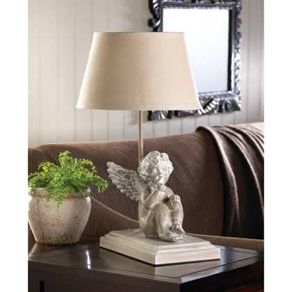 Lamps Shade Desk Angel Reading Lamp Contemporary Distressed finish architectural base Accent  Sale