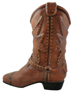 Country Classic Table Cowboy Boot Planter  Flower Arrangement Vase Home Decor Accent