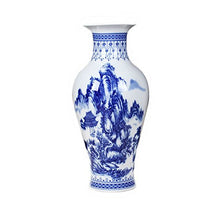 Traditional Chinese Ceramic Decorative Jar Vase,Jingdezhen Oriental Handcrafted Porcelain