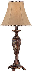 Hanna Bronze Candlestick Classical Traditional Table Lamp Home Decor Accent