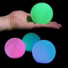 Multi Colored LED Light Orb (Ball) Lamp (Pack of 6) - Great Gift Home Decor Accent Fun Remote Sale