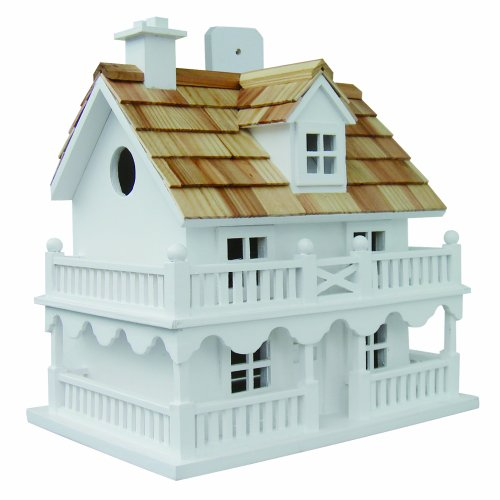 Handmade Victoria  Cottage Bird House Wood Cedar Pine Garden Patio