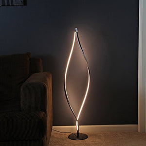 "Twisted  LED Floor Lamp Modern Decor Light Fixture Lumens 43"" Touch Floor 3 Settings Home Accent"