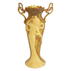 Toscano Design Salon Michele Art Nouveau Vase Handmade Decor Accent