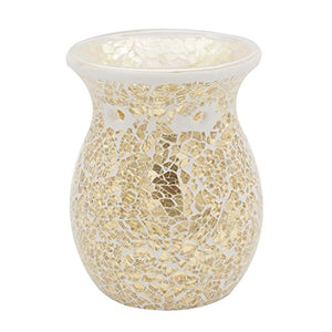 Mosaic Oil Burner Essential Tealights Wax Aromatherapy Flower candle holder Home Accent